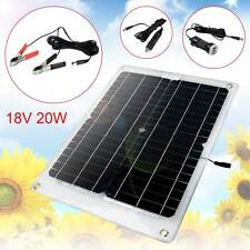 New 18V 20W Semi Flexible High Efficiency Mono Solar Panels Battery Charger