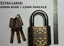 *Extra Large- 60mm* YUEMA 750. 360° Spinning Core! Super Thick 12mm Shackle!