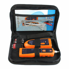 Telephone Phone Network Cable Wire Tracker Toner Tracer Tester Kit With Bag