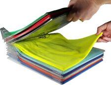 Ezstax Closet Organizer and Shirt Folder | Regular Size, 20-Pack