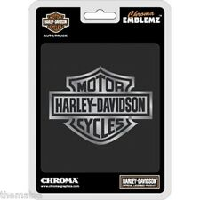 HARLEY DAVIDSON MOTORCYCLES BAR AND SHIELD AUTO EMBLEM STICKER DECAL