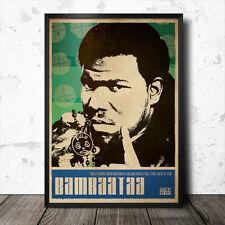 Afrika Bambaataa Hip Hop Art Poster Rap Music Run DMC Grandmaster Flash Rakim