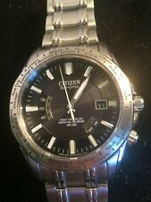 Citizen 200m Dive Watch- Radio Controlled, Perpet Cal - Eco-Drive, Works- Z1117
