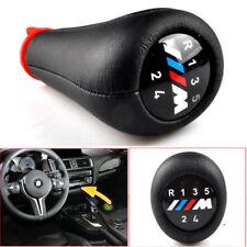 5 Speed BMW Gear Stick Shift Knob Leather M Sport 3 Series E36 E39 E46 E90 E91