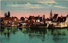 CPA  Valenciennes -Le Faubourg de Paris - Vue sur l'Escaut  (513202)