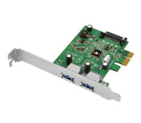 SIIG USB 3.1 2-Port PCIe 3.0 Host Adapter(1x) - Type-A, 10Gb/s (JU-P20B12-S1)