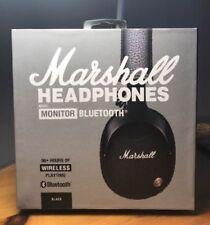 2018 New Marshall Monitor Bluetooth Headset Bass Mic Genuin Wireless Headphones