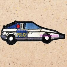 Inspector Gadget Police Car Patch Dr. Claw M.A.D. Detective Mobile Brain