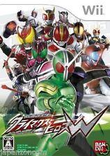 Used Wii Kamen Rider: Climax Heroes W Nintendo JAPAN JP JAPANESE JAPONAIS IMPORT