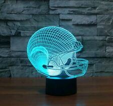 3D NFL Lamp American Football Helmet San Diego Chargers Led Light Furniture Gift