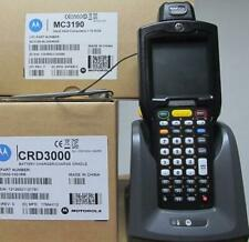 Motorola MC3190-RL3S04E0A Barcode Scanner Wireless Bluetooth W/ Charger Cradle