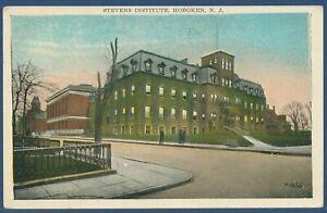 Stevens Institute Hoboken N. J. gelaufen 1937 (AK3840)