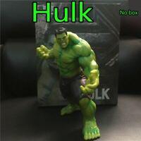 1 Pc 20 cm The Hulk Pvc Action Figure Toy Anime Marvel's The Avengers Hulk Displ