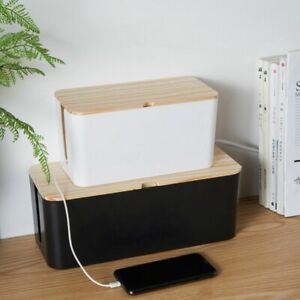 Products Plug Socket Charger Organize Box Cable Tidy Wire Storage Box Plastic