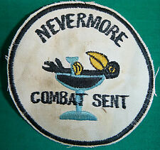 THE RAVEN - Patch - NEVERMORE - USAF 56th SPECIAL OPERATIONS, Vietnam War - 8515