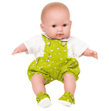 Boy Dolls Green Dungarees All Sizes Available Baby George/ Baby Born.Frilly Lily