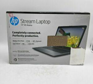 """HP Stream 14-cb174wm 14"""" Intel Celeron 4GB DDR4 64GB eMMC Windows - SH2738"""
