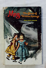 Vintage WHITMAN MYSTERY Meg The Ghost of Hidden Springs by Holly Beth Walker #4