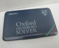 More details for seiko 'er3000' oxford crossword solver
