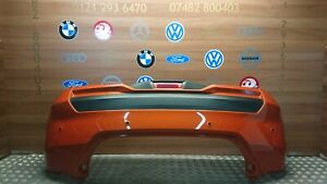 NISSAN Micra 2017-2019 COMPLETE REAR BUMPER  IN VERY GOOD CONDITION