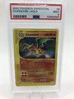 2002 Pokemon Expedition #6 Charizard HOLO PSA 9 MINT