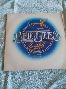BEE GEES GREATEST UK EARLY PRESSING VINYL DOUBLE ALBUM 1979 RSO RECORDS