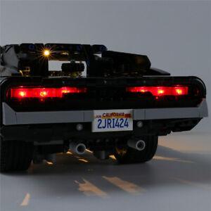 LED light Kit for LEGO 42111 Technic Dom's Dodge Charger Lighting Kit ONLY- AU
