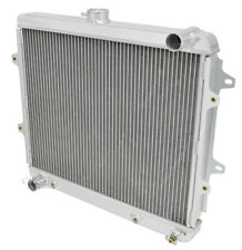 "1986-95 Toyota Pickup Truck Radiator & 10"" Fans, 2 Row Champion Radiator, 2.4 L4"
