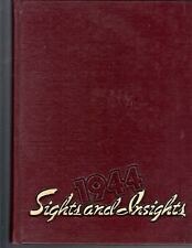 "1944 ""Sights & Insights"" Salem College Yearbook Winston-Salem NC, NAMES LISTED!*"