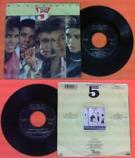 LP 45 7' 5 FIVE STAR Rain or shine Summer groove 1986 italy RCA no cd mc dvd vhs