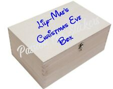 Personalised Disney Christmas Eve Box Vinyl Sticker