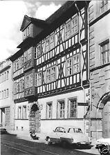 """AK, Erfurt, Haus """"Zum Mohrenkopf"""" in der Leninstr., 1972"""