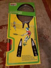 Vintage Sportcraft Official Badminton Set New Old Stock  Complete
