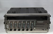 Samson S6 - 6 Channel Mixer Amplifier Rack mounted in case