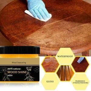Beeswax Wood Seasoning Beewax Furniture Polishing Natural Household P3W1