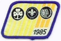 Scouts Canada crest patch Girl Guides WOSM 1995