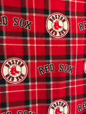 MLB Boston Red Sox 16 x 16 Flannel Pillow Cover