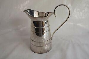 silver plated jug