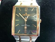 Vintage Croton Gents 2 Tone Rose Gold/Stainless Steel Watch - Serviced GWO