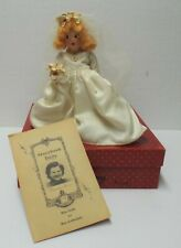 Vintage Nancy Ann Wee Dolls Storybook #86 Blonde Bride Doll