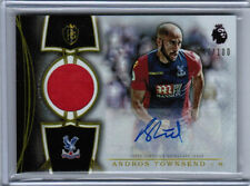 2016 TOPPS PREMIER GOLD SOCCER ANDROS TOWNSEND AUTO JERSEY /100 CRYSTAL PALACE