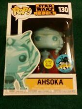 New Funko Pop Star Wars Rebels Disney Collectible AHSOKA 130 Comic Con Exclusive