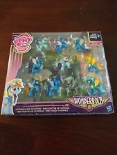 """New My Little Pony Wonderbolts Cloudsdale 2"""" Mini-Figure 10-Pack Collection"""