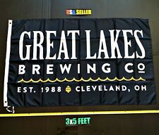 New listing Great Lakes Flag Free First Class Ship Black Brewing Tea White Claw New Banner