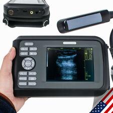 Vet Digital Portable Veterinary Ultrasound Scanner Machine Portable Bovine Amp Box