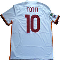 MAGLIA ROMA TOTTI SIGNED JERSEY NIKE AUTHENTIC no MATCH WORN