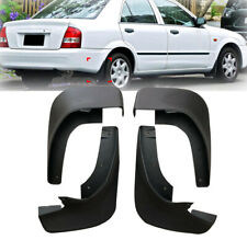 4x New Mudguard Mud Flap Splash Guard Mudflaps For Mazda Protege 323 98-03 Top