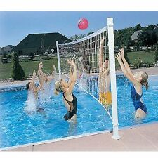 Pool Volleyball Set Games For Adults Net Ball Accessories Water Fun For Kids