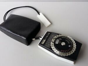 Weimar Lux Weimarlux Nova Light Exposure Meter Made in GDR