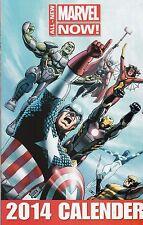 Marvel Now - 2014 Calender (sic) Spiderman - Fantastic Four - Thor - Ironman